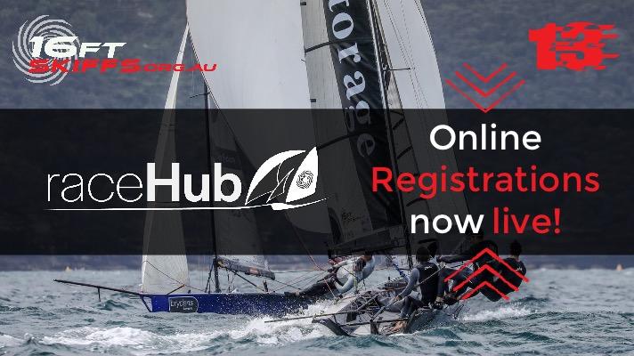 raceHub // Online Skiff Registrations